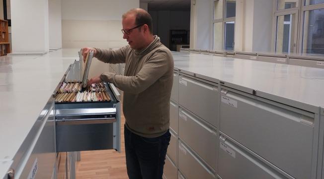 L'archiviste Walter Amtmann