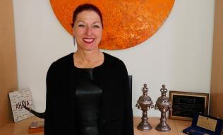 La secrétaire générale du Fonds, Hannah Lessing