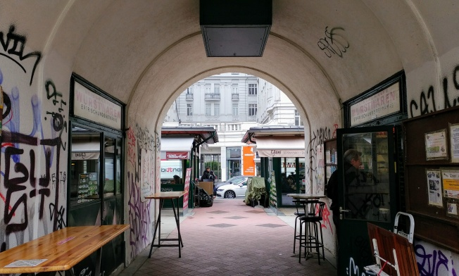 Vienne - Naschmarkt