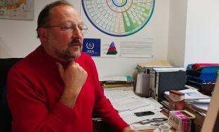 Les coalitions au pouvoir se succèdent, mais Andreas Molin reste. Il dirige depuis plus de 20 ans le service de coordination des affaires nucléaires au ministère du Développement durable.
