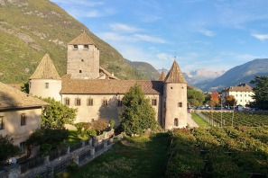 Le chateau Maretsch a Bolsano