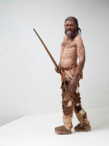 Une reconstitution d'Ötzi. © South Tyrol Museum of Archaeology/foto-dpi.com