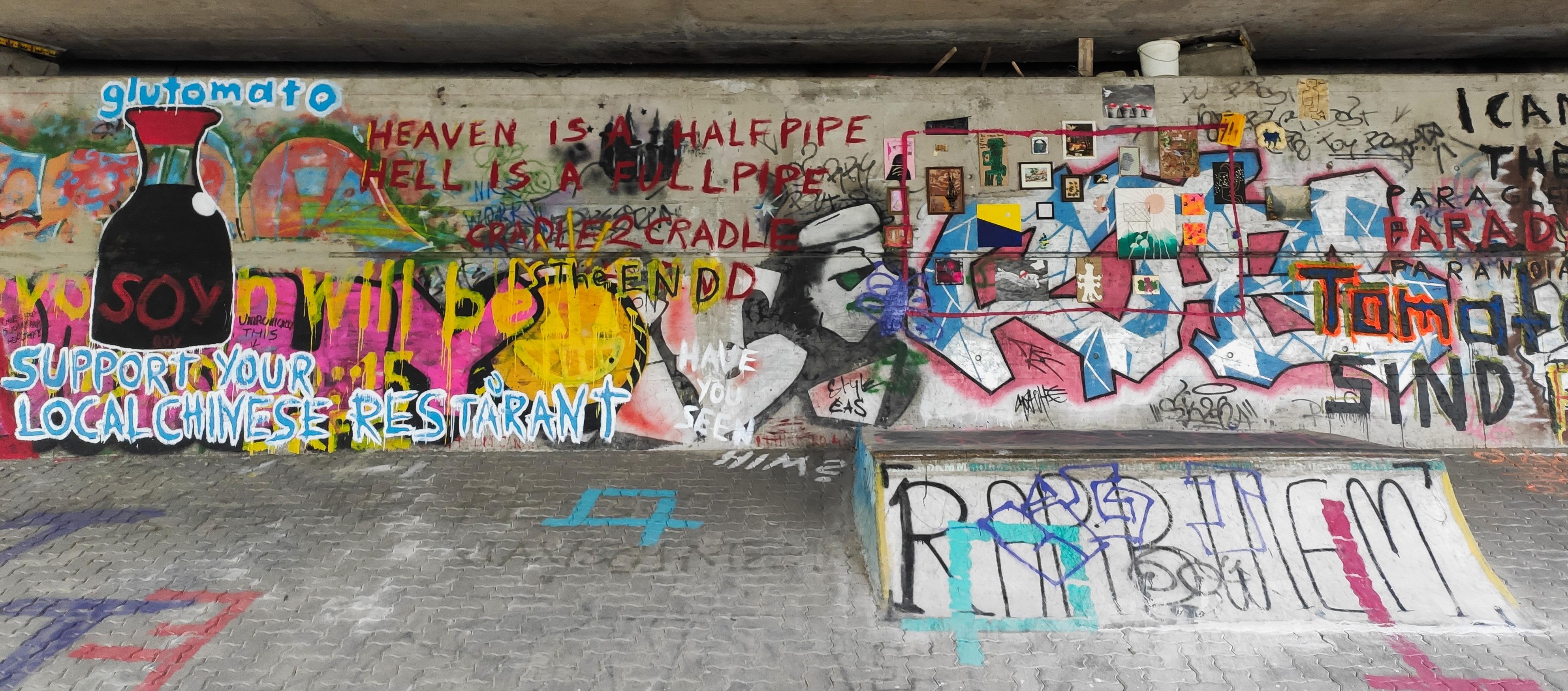 Ein D.I.Y.-Skatepark in Wien